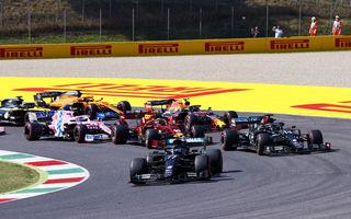 Hamilton a câștigat cursa de Formula 1 de la Mugello după două accidente colective în primele tururi. Ferrari, 5 puncte în cursa numărul 1.000