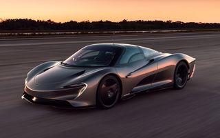 Vânzările McLaren vor scădea cu circa 40% în 2020: circa 2.700 de unități comercializate