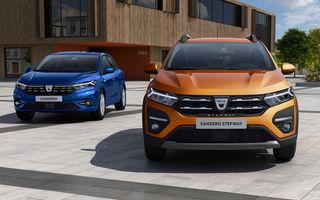Noua generație Dacia Sandero, apreciată de francezi: 67% dintre participanții la un sondaj cred că modelul are un design mai atractiv decât Renault Clio