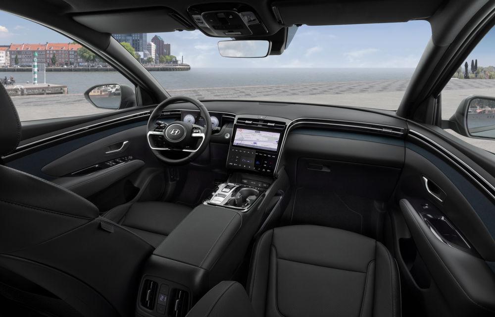 Noua generație Hyundai Tucson: SUV-ul compact primește design modern, tehnologii noi și versiune plug-in hybrid de 230 CP - Poza 11