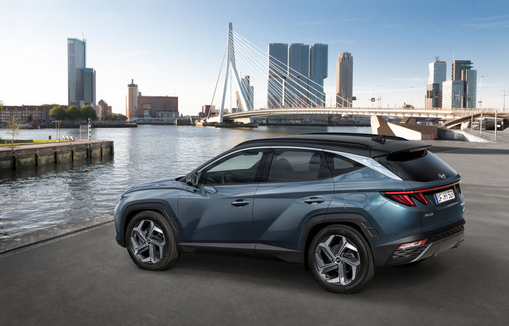 Noua generație Hyundai Tucson: SUV-ul compact primește design modern, tehnologii noi și versiune plug-in hybrid de 230 CP - Poza 7