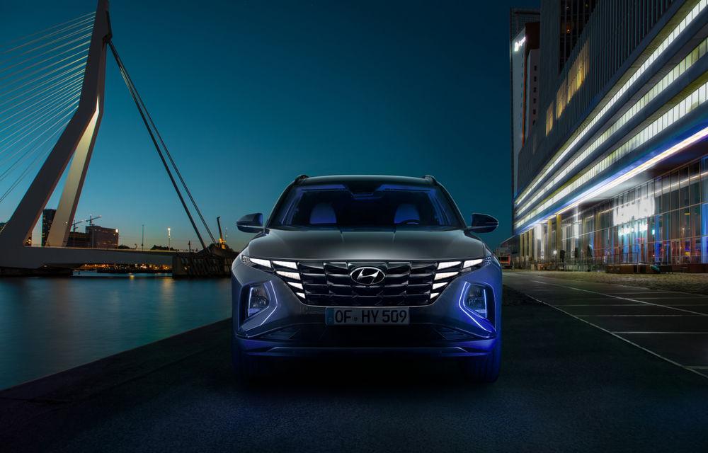 Noua generație Hyundai Tucson: SUV-ul compact primește design modern, tehnologii noi și versiune plug-in hybrid de 230 CP - Poza 6
