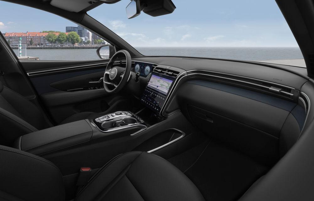 Noua generație Hyundai Tucson: SUV-ul compact primește design modern, tehnologii noi și versiune plug-in hybrid de 230 CP - Poza 13