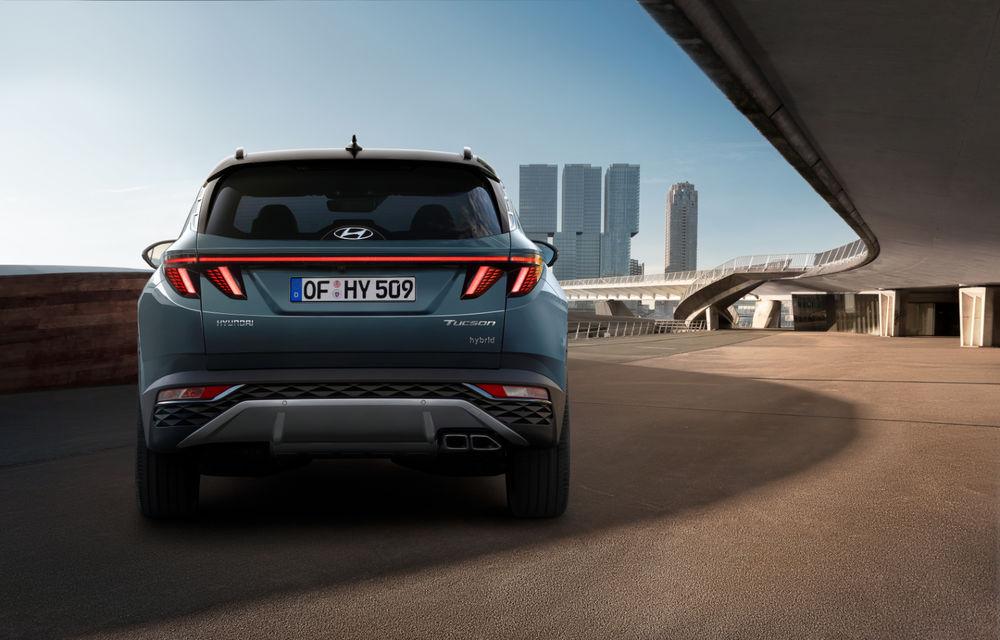 Noua generație Hyundai Tucson: SUV-ul compact primește design modern, tehnologii noi și versiune plug-in hybrid de 230 CP - Poza 5