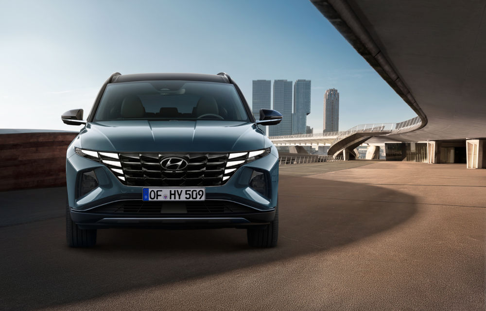 Noua generație Hyundai Tucson: SUV-ul compact primește design modern, tehnologii noi și versiune plug-in hybrid de 230 CP - Poza 4