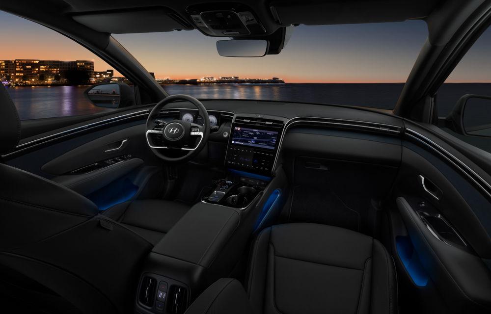 Noua generație Hyundai Tucson: SUV-ul compact primește design modern, tehnologii noi și versiune plug-in hybrid de 230 CP - Poza 12