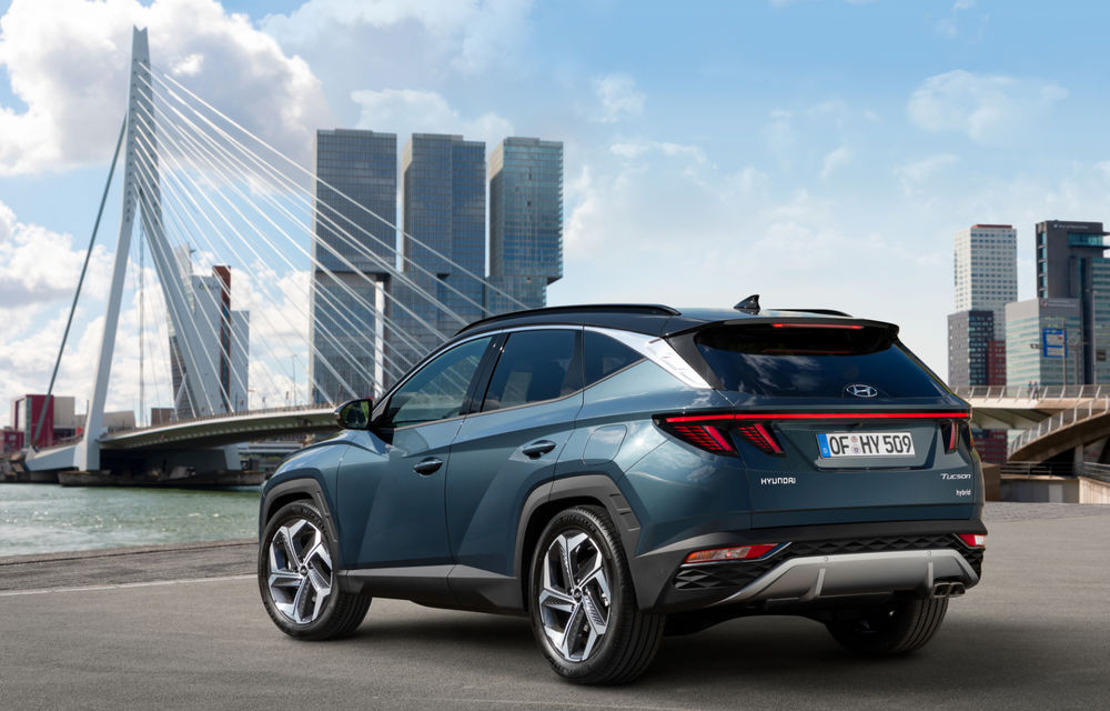 Noua generație Hyundai Tucson: SUV-ul compact primește design modern, tehnologii noi și versiune plug-in hybrid de 230 CP - Poza 2