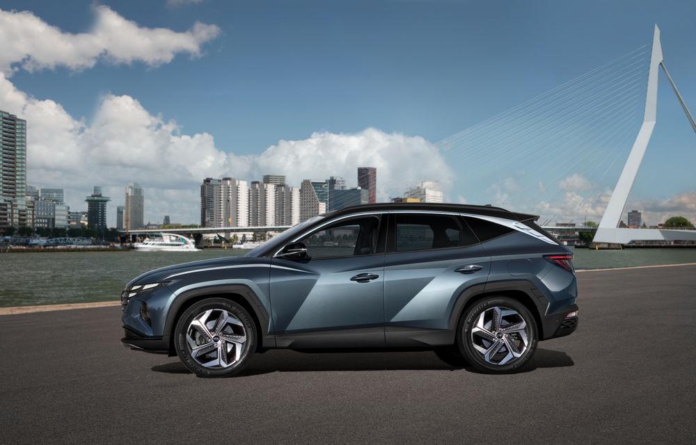 Noua generație Hyundai Tucson: SUV-ul compact primește design modern, tehnologii noi și versiune plug-in hybrid de 230 CP - Poza 3