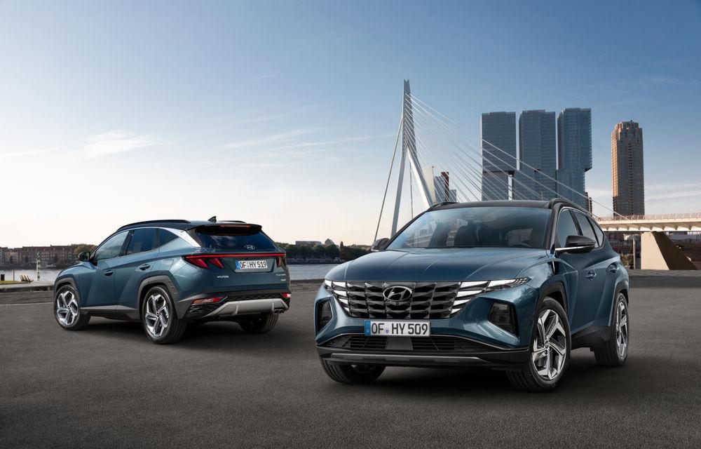 Noua generație Hyundai Tucson: SUV-ul compact primește design modern, tehnologii noi și versiune plug-in hybrid de 230 CP - Poza 8