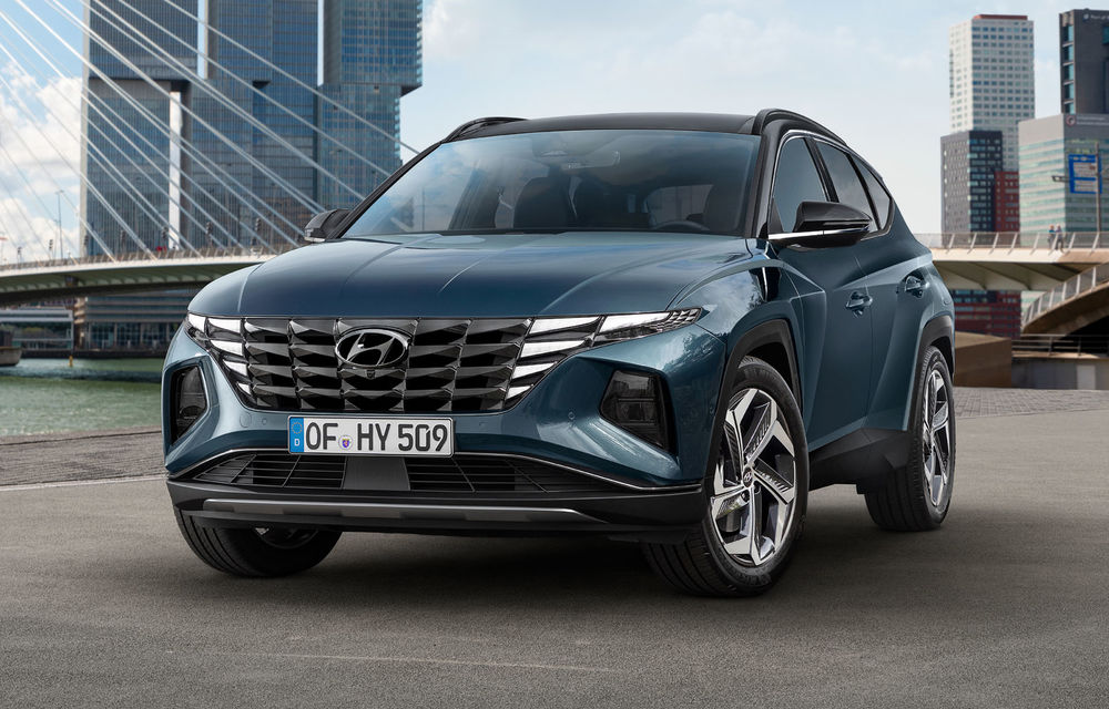 Noua generație Hyundai Tucson: SUV-ul compact primește design modern, tehnologii noi și versiune plug-in hybrid de 230 CP - Poza 1