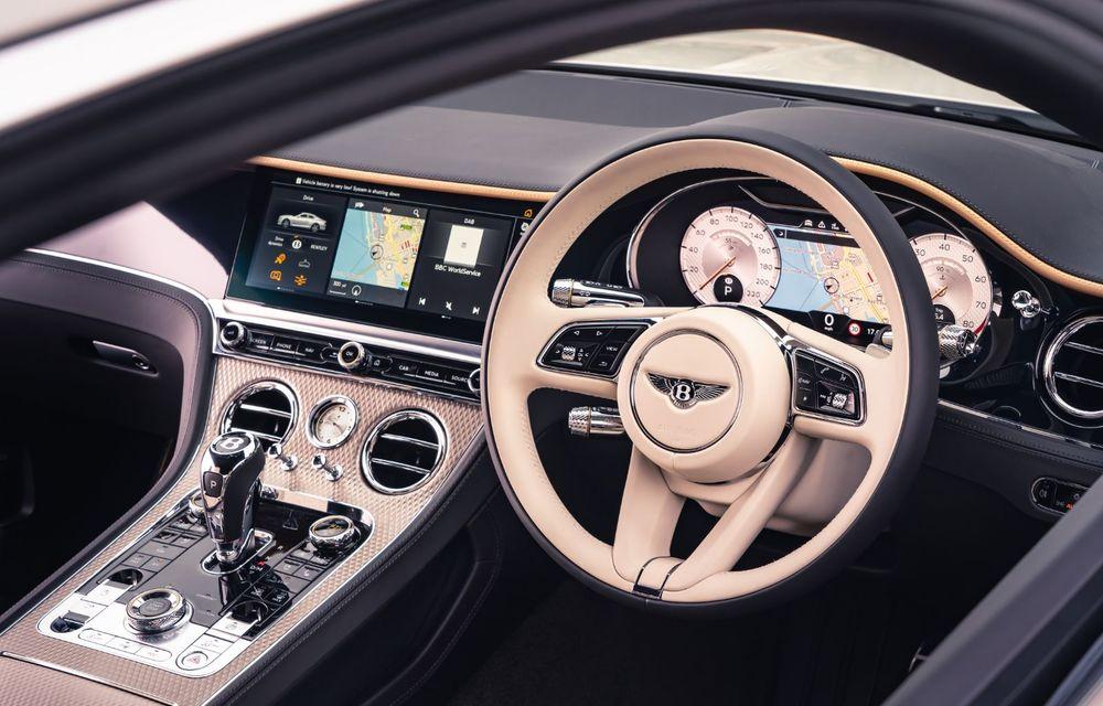 Bentley prezintă ediția specială Continental GT Mulliner Coupe: comenzile încep în octombrie, iar livrările din 2021 - Poza 6