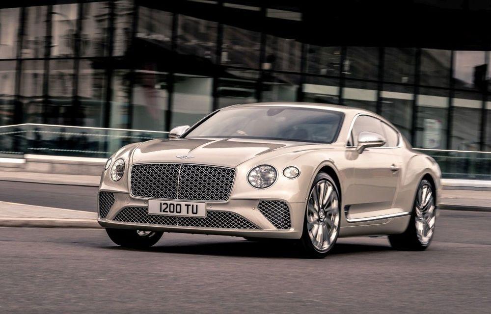 Bentley prezintă ediția specială Continental GT Mulliner Coupe: comenzile încep în octombrie, iar livrările din 2021 - Poza 1