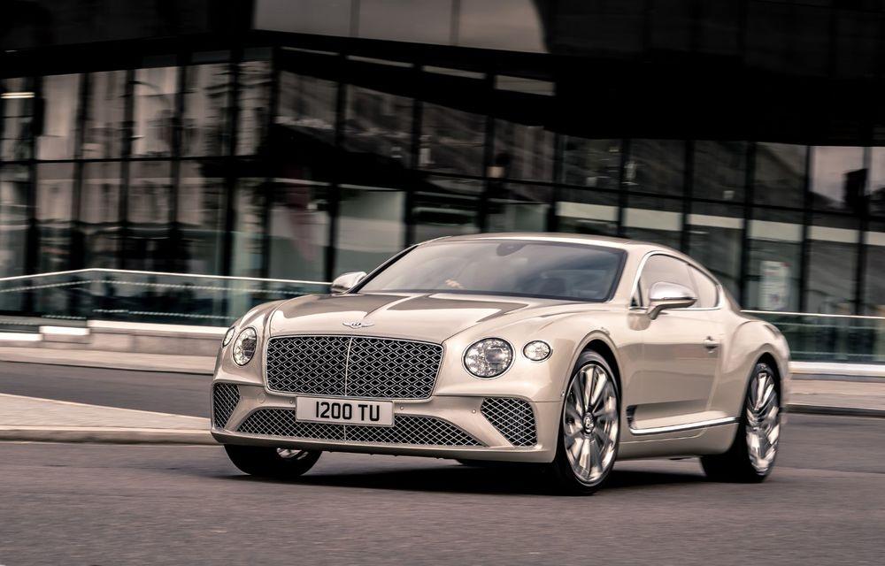 Bentley prezintă ediția specială Continental GT Mulliner Coupe: comenzile încep în octombrie, iar livrările din 2021 - Poza 4