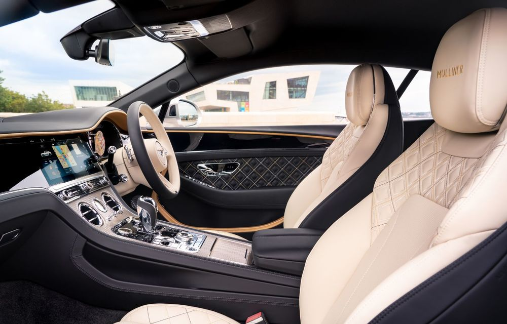 Bentley prezintă ediția specială Continental GT Mulliner Coupe: comenzile încep în octombrie, iar livrările din 2021 - Poza 7
