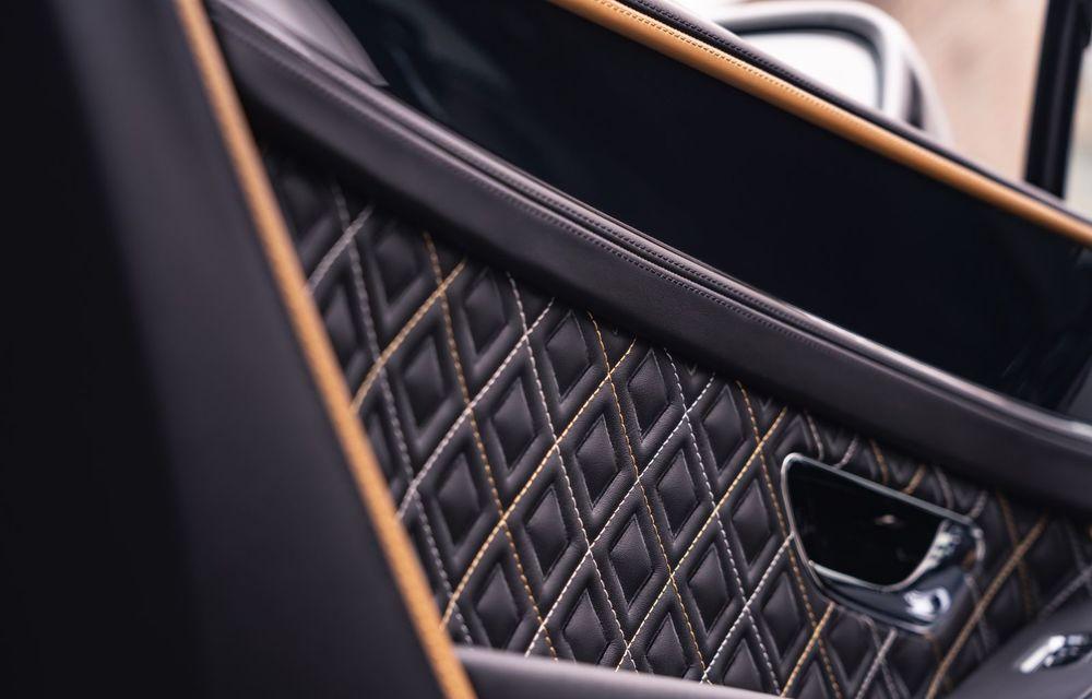 Bentley prezintă ediția specială Continental GT Mulliner Coupe: comenzile încep în octombrie, iar livrările din 2021 - Poza 11