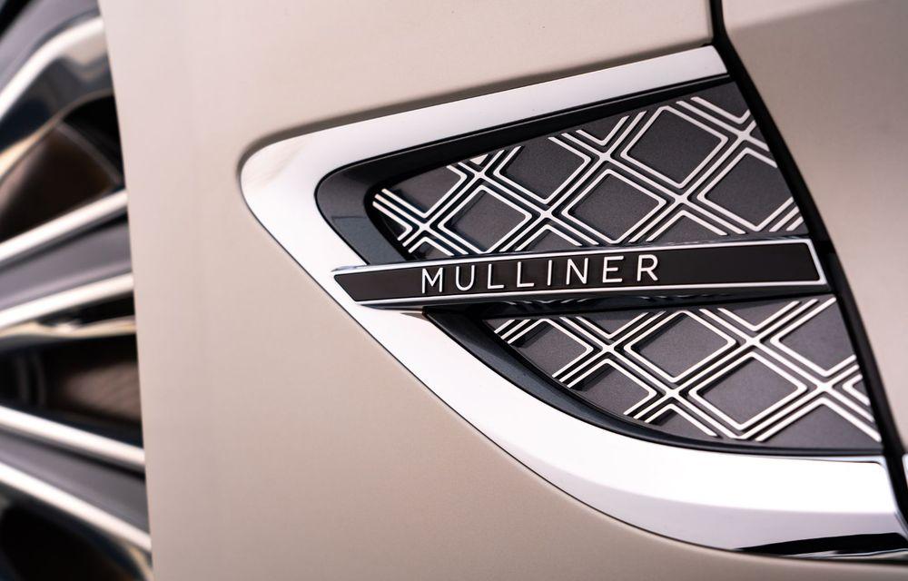 Bentley prezintă ediția specială Continental GT Mulliner Coupe: comenzile încep în octombrie, iar livrările din 2021 - Poza 14