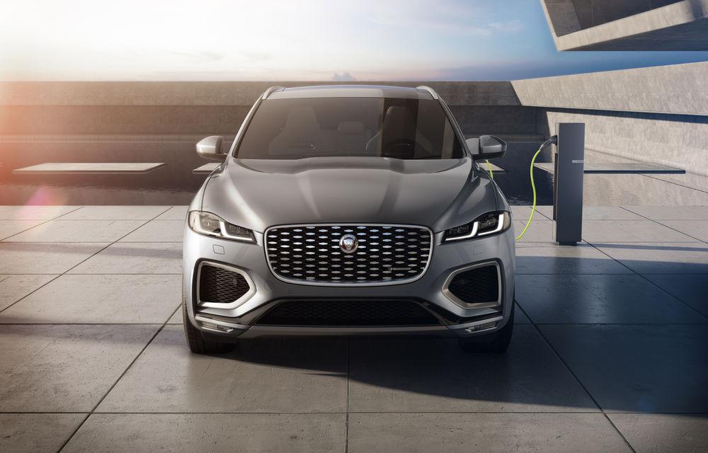 Jaguar F-Pace facelift: SUV-ul de segment mediu primește îmbunătățiri la interior și versiune plug-in hybrid de peste 400 de cai putere - Poza 2