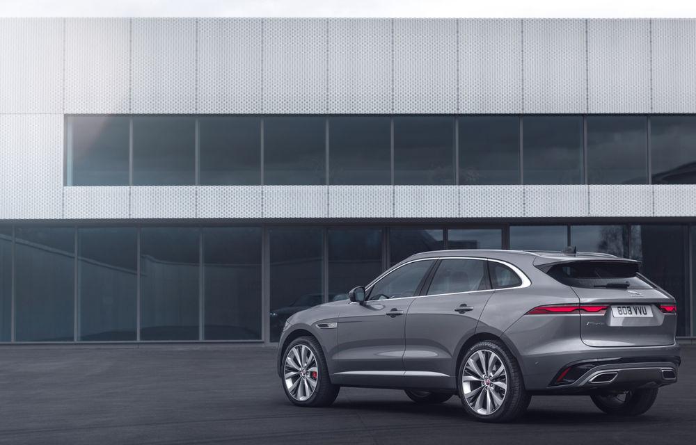 Jaguar F-Pace facelift: SUV-ul de segment mediu primește îmbunătățiri la interior și versiune plug-in hybrid de peste 400 de cai putere - Poza 3