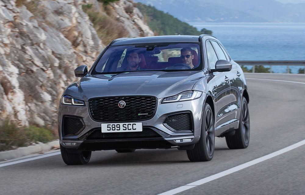 Jaguar F-Pace facelift: SUV-ul de segment mediu primește îmbunătățiri la interior și versiune plug-in hybrid de peste 400 de cai putere - Poza 1