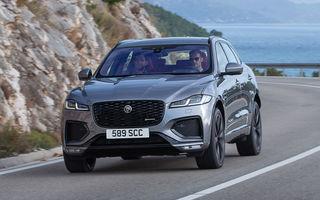 Jaguar F-Pace facelift: SUV-ul de segment mediu primește îmbunătățiri la interior și versiune plug-in hybrid de peste 400 de cai putere