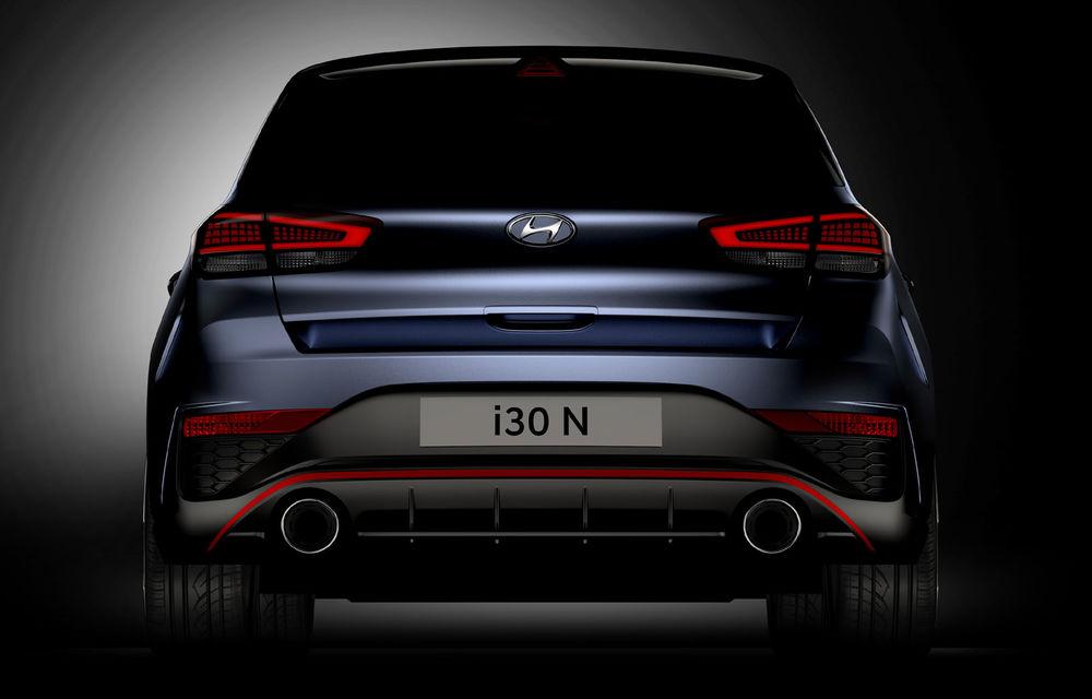 Primele imagini cu Hyundai i30 N facelift: modelul va primi cutie automată cu dublu-ambreiaj - Poza 3