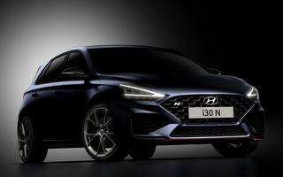 Primele imagini cu Hyundai i30 N facelift: modelul va primi cutie automată cu dublu-ambreiaj