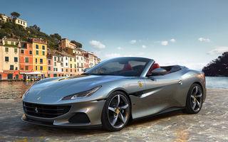 Primele imagini cu Ferrari Portofino M: cel mai accesibil model Ferrari primește o actualizare discretă și oferă 620 de cai putere