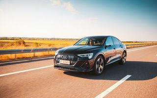 RAPORT FINAL: Audi e-tron Sportback în #ElectricRomânia 2020: încărcare, consum, autonomie reală