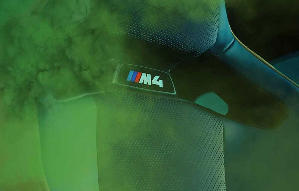 Teasere cu BMW M3 și M4 Coupe: cele două modele de performanță vor fi prezentate în 23 septembrie - Poza 7