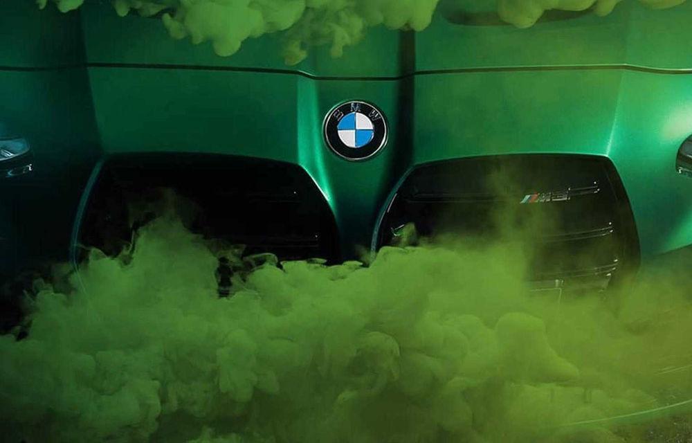 Teasere cu BMW M3 și M4 Coupe: cele două modele de performanță vor fi prezentate în 23 septembrie - Poza 9
