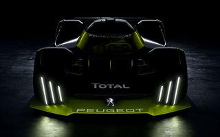 Primele schițe cu hypercarul Peugeot pentru Cursa de 24 de ore de la Le Mans: hibrid de 680 de cai putere cu tracțiune integrală