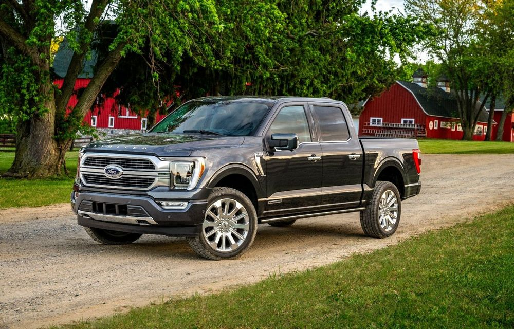 Ford a început producția noului F-150: vânzările debutează în luna noiembrie - Poza 1