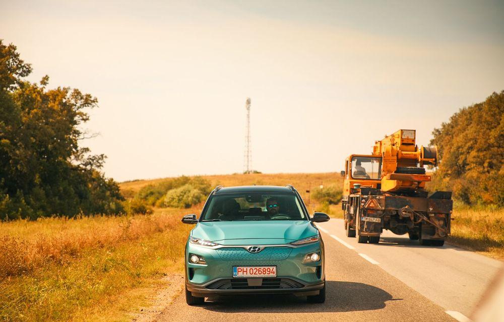 RAPORT FINAL: Hyundai Kona Electric în #ElectricRomânia 2020: încărcare, consum, autonomie reală - Poza 10