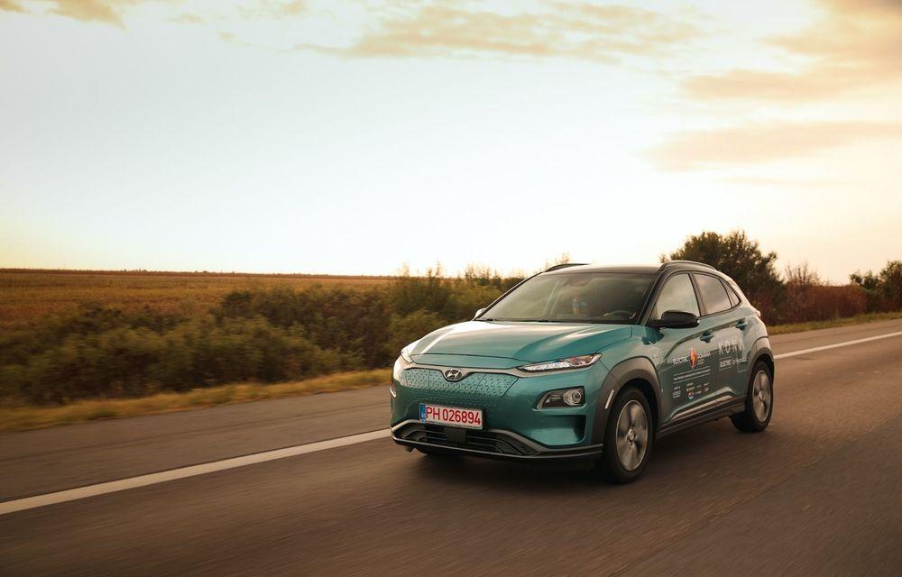 RAPORT FINAL: Hyundai Kona Electric în #ElectricRomânia 2020: încărcare, consum, autonomie reală - Poza 2