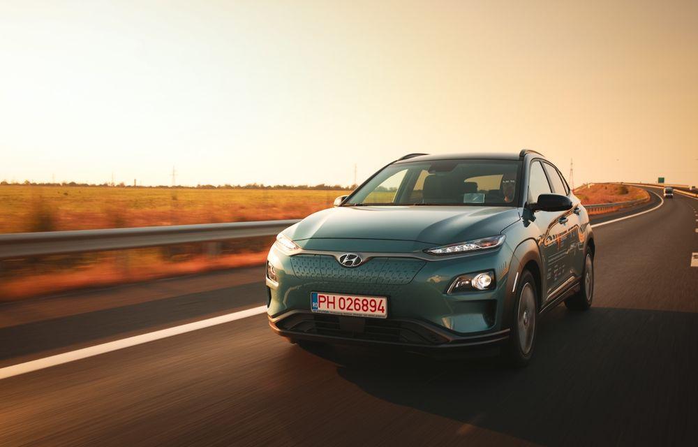 RAPORT FINAL: Hyundai Kona Electric în #ElectricRomânia 2020: încărcare, consum, autonomie reală - Poza 4