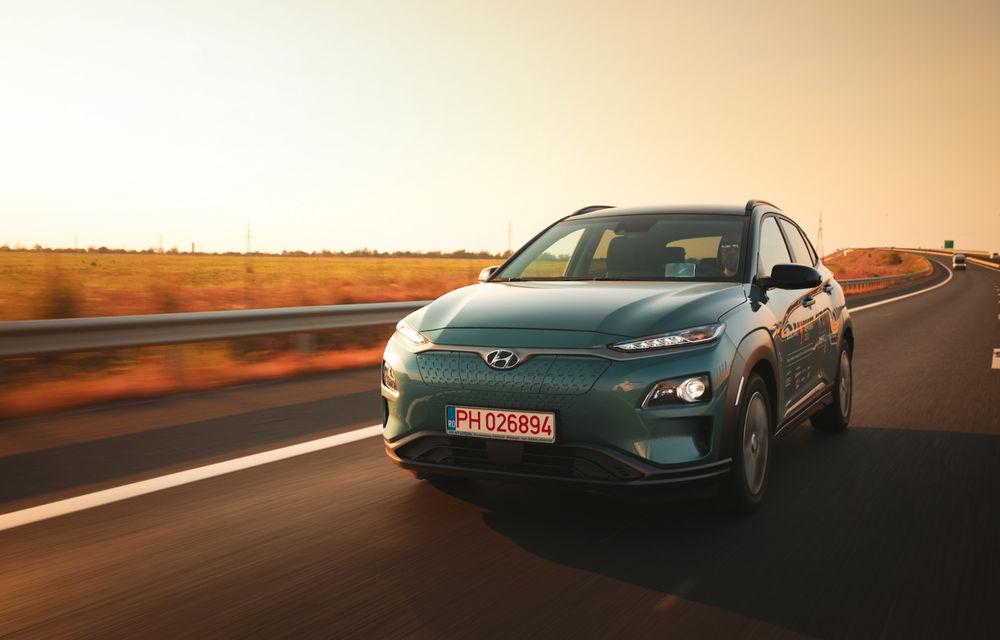 RAPORT FINAL: Hyundai Kona Electric în #ElectricRomânia 2020: încărcare, consum, autonomie reală - Poza 1