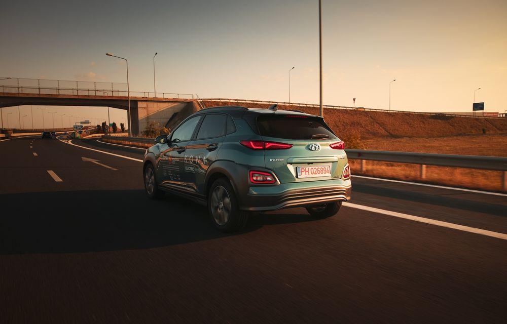 RAPORT FINAL: Hyundai Kona Electric în #ElectricRomânia 2020: încărcare, consum, autonomie reală - Poza 21