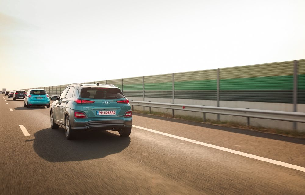 RAPORT FINAL: Hyundai Kona Electric în #ElectricRomânia 2020: încărcare, consum, autonomie reală - Poza 18