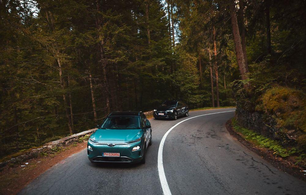 RAPORT FINAL: Hyundai Kona Electric în #ElectricRomânia 2020: încărcare, consum, autonomie reală - Poza 9