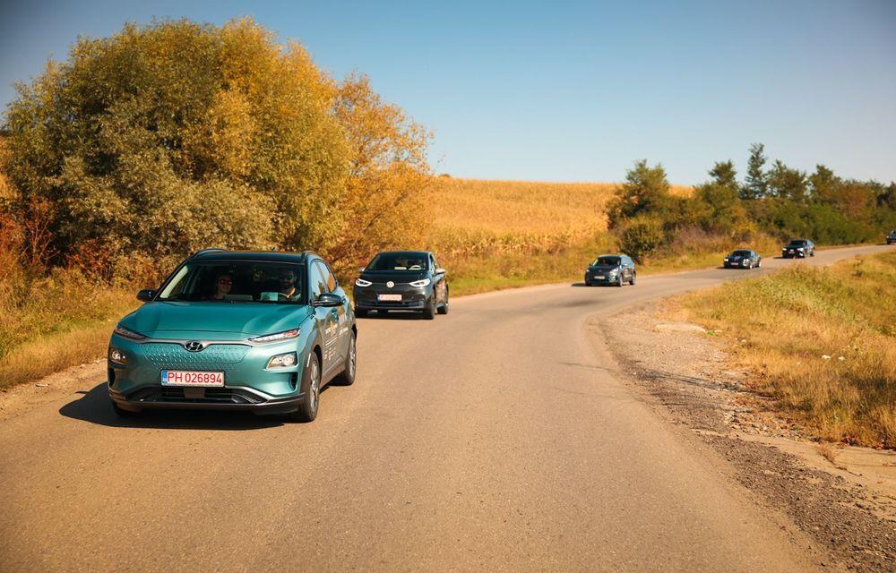 RAPORT FINAL: Hyundai Kona Electric în #ElectricRomânia 2020: încărcare, consum, autonomie reală - Poza 12