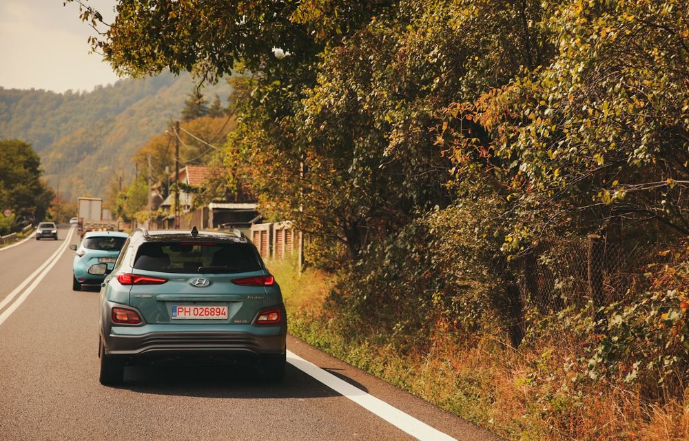 RAPORT FINAL: Hyundai Kona Electric în #ElectricRomânia 2020: încărcare, consum, autonomie reală - Poza 20