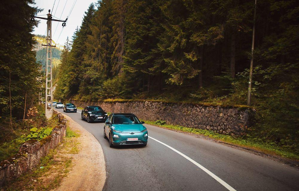 RAPORT FINAL: Hyundai Kona Electric în #ElectricRomânia 2020: încărcare, consum, autonomie reală - Poza 11