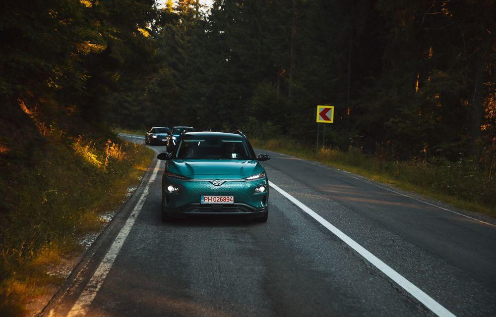 RAPORT FINAL: Hyundai Kona Electric în #ElectricRomânia 2020: încărcare, consum, autonomie reală - Poza 19