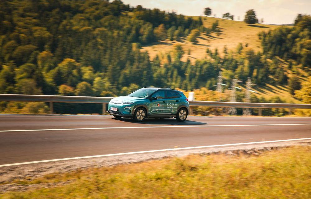 RAPORT FINAL: Hyundai Kona Electric în #ElectricRomânia 2020: încărcare, consum, autonomie reală - Poza 7