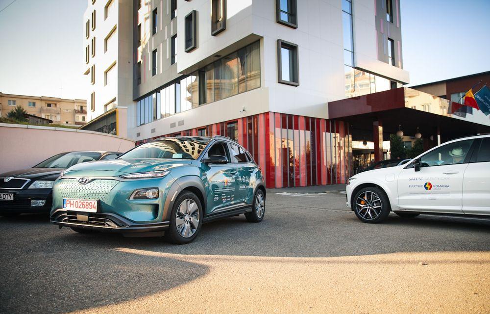 RAPORT FINAL: Hyundai Kona Electric în #ElectricRomânia 2020: încărcare, consum, autonomie reală - Poza 26