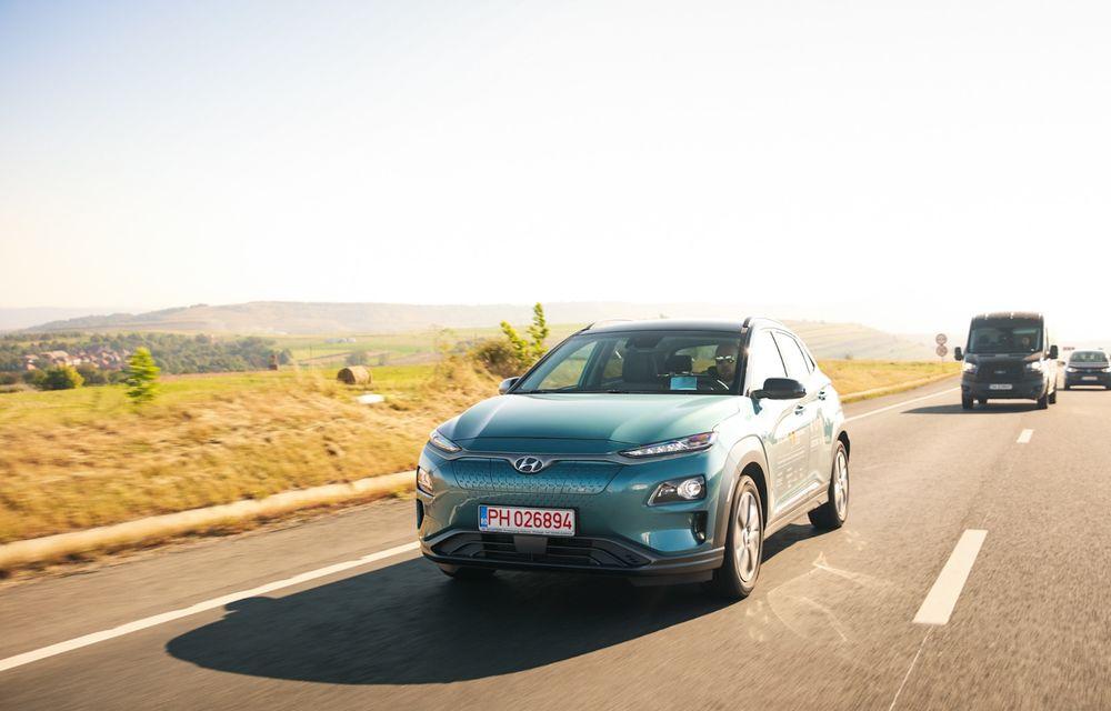RAPORT FINAL: Hyundai Kona Electric în #ElectricRomânia 2020: încărcare, consum, autonomie reală - Poza 3