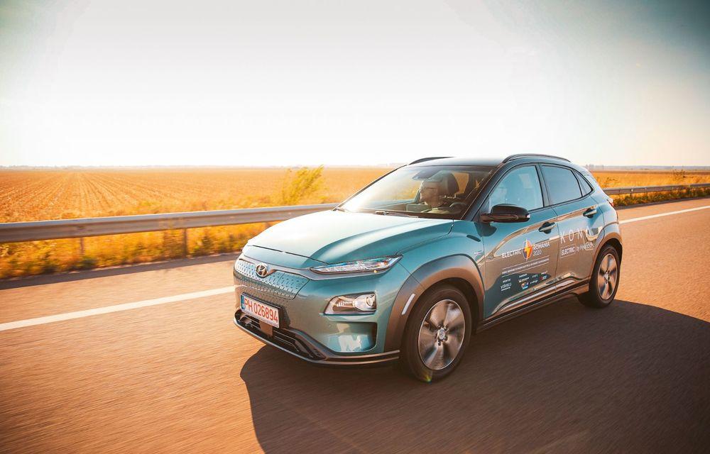 RAPORT FINAL: Hyundai Kona Electric în #ElectricRomânia 2020: încărcare, consum, autonomie reală - Poza 5