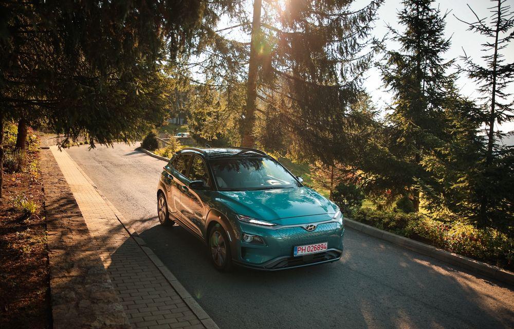 RAPORT FINAL: Hyundai Kona Electric în #ElectricRomânia 2020: încărcare, consum, autonomie reală - Poza 13