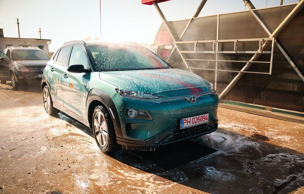 RAPORT FINAL: Hyundai Kona Electric în #ElectricRomânia 2020: încărcare, consum, autonomie reală - Poza 24