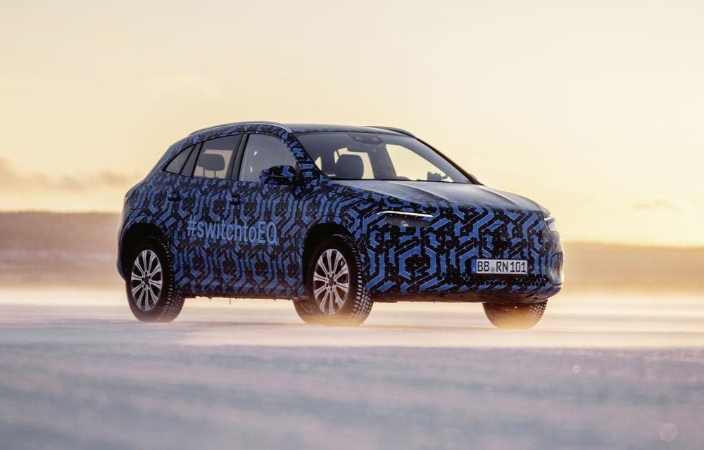 Informații neoficiale: lansarea SUV-ului electric Mercedes-Benz EQA, amânată pentru 2021 - Poza 1